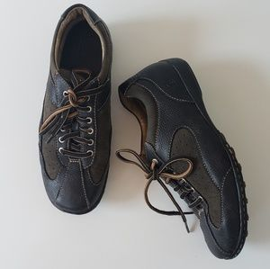 Born Leather Lace Up Sneakers